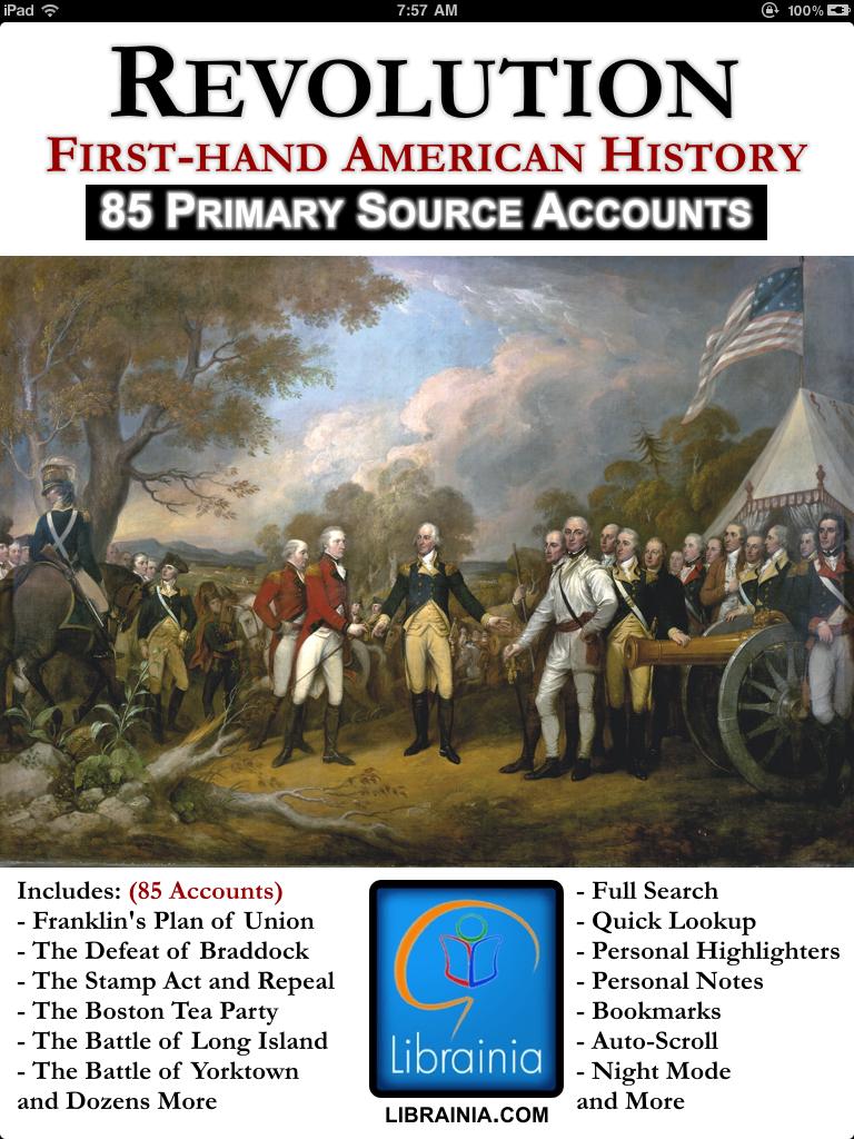 revolutionary american revolution 1